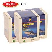 블로섬 스쿠알렌 1000mg 200캡슐 X 3
